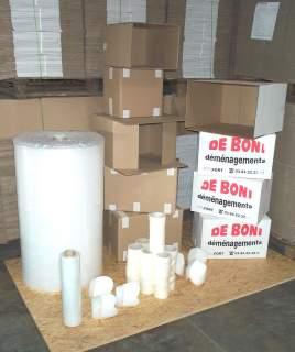 Vente de cartons et Kits d'emballages